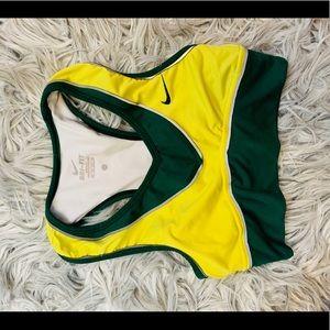 Nike Oregon ducks sports bra